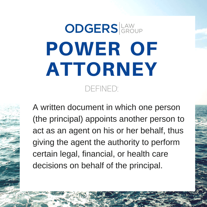 how to change power of attorney in california