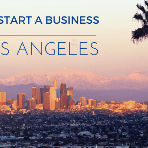 Start a business in Los Angeles