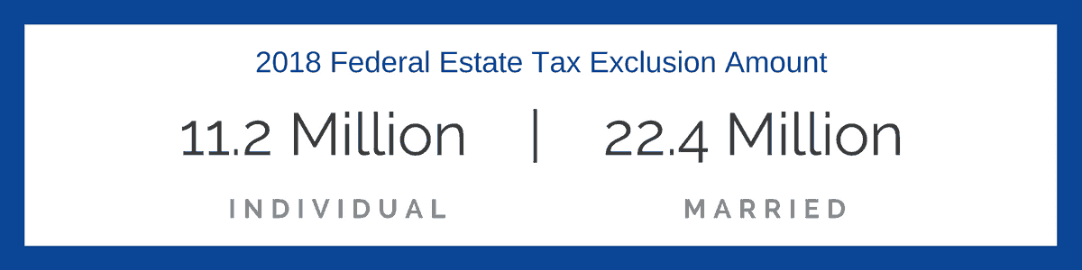 federal estate tax exemption 2018